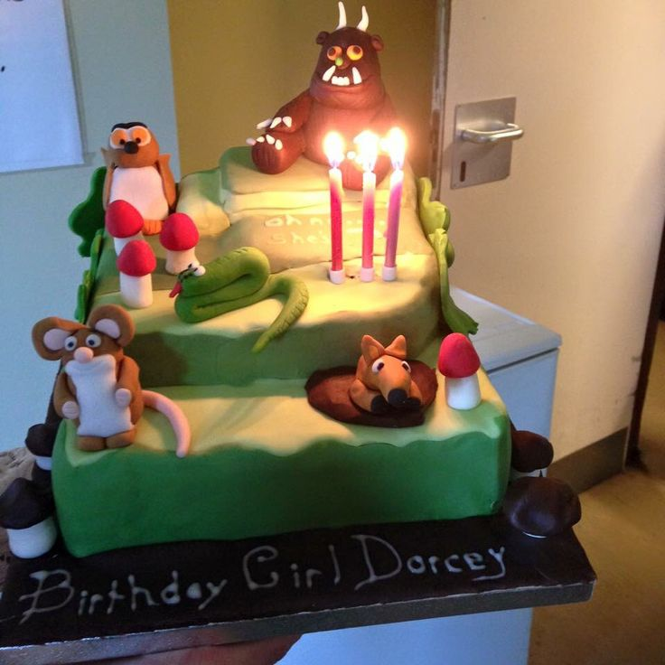 Daughters 3rd birthday - gruffalo