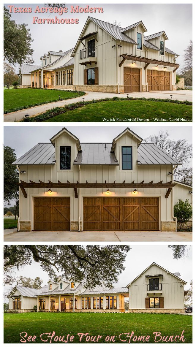 34+ Modern farmhouse with barn ideas
