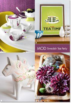649 best images about vintage tea parties on pinterest for Unique tea party ideas