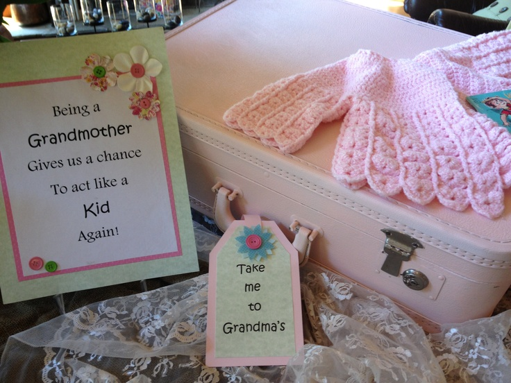 Grandma Shower Baby Showed For Grandma Pinterest Showers