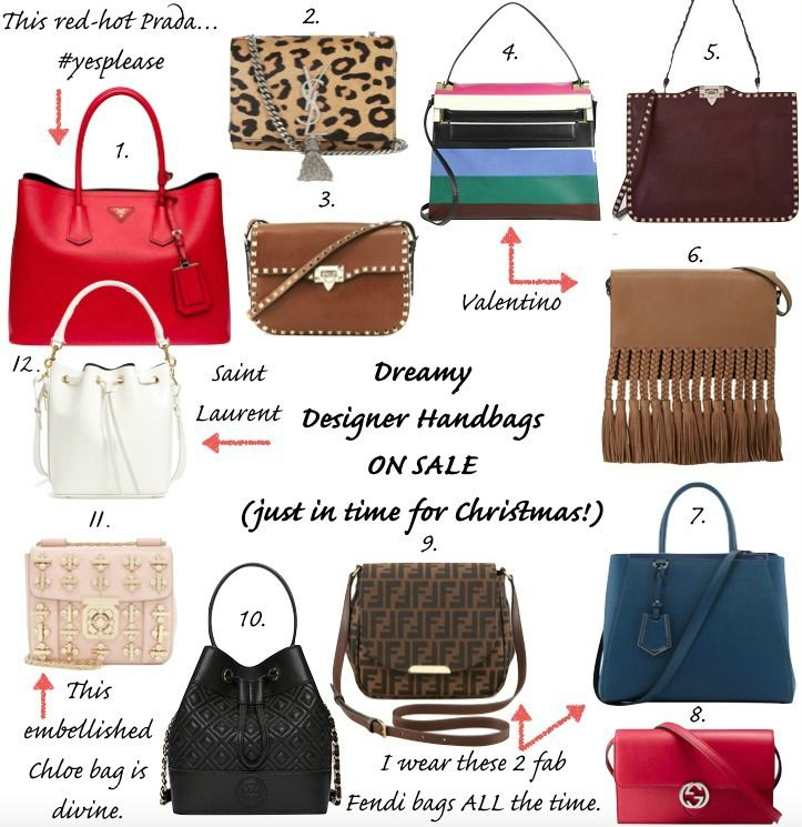 Designer Bags on Major Sale  http://fashionandfrills.com/drop-dead-gorgeous-designer-bags-on-sale-just-in-time-for-xmas/
