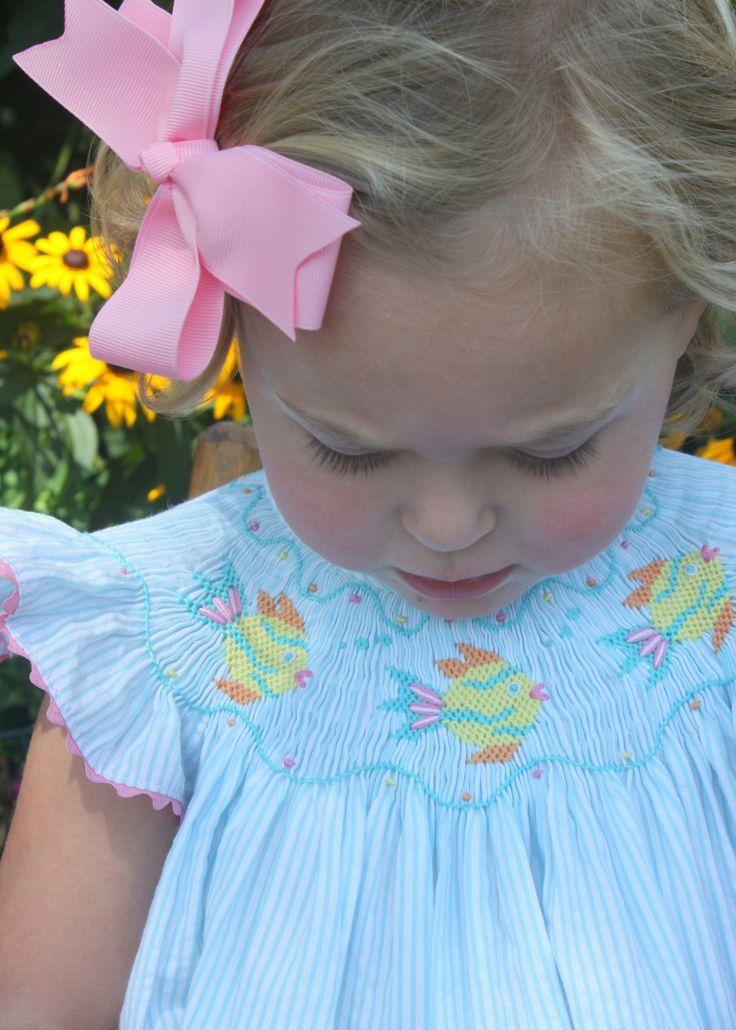 Best 25 Smocked Baby Dresses Ideas On Pinterest