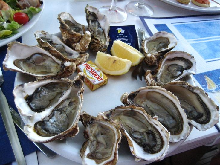 Des huîtres, Arcachon