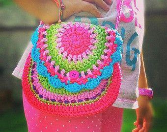 Harten tas patroon van de gehaakte portemonnee DIY door VendulkaM