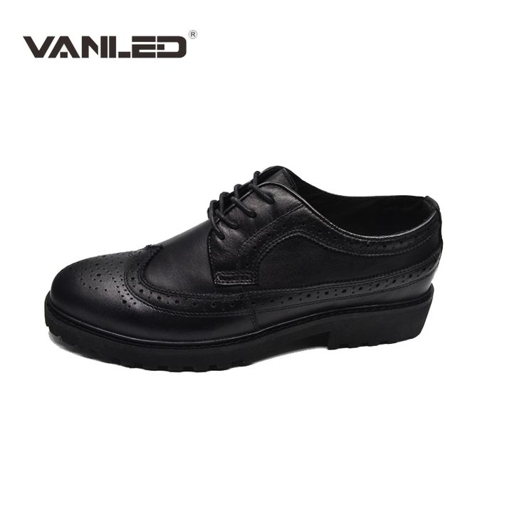 Classic Luxury Handmade Genuine Leather Men Shoes,Full Grain Leather Men Flats,Lace Up Casual business oxford brogues men shoes