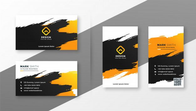 Abstract Creative Business Card Design Free Vector Premium Vector Freepik Vector Business Cards Creative Business Card Design Creative Vector Business Card