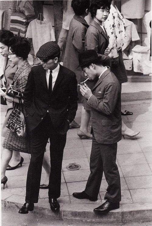 銀座 Ginza, Tokyo, 1962