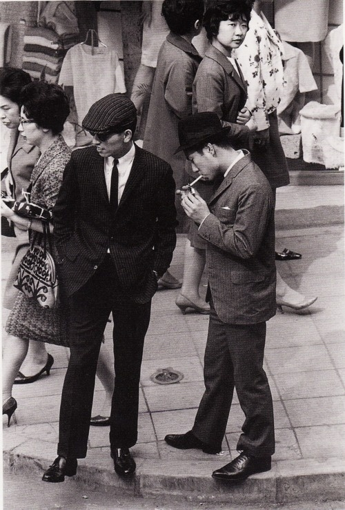 Ginza, Tokyo, 1962 by Tanuma Takeyoshi