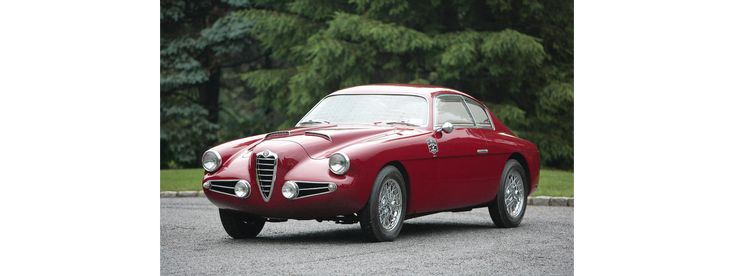 Alfa Romeo 1900C Super Sprint Berlinetta Coachwork by Zagato  1955 AR1900C02056-Exceptional Motorcars and Automobilia, featuring the Sidney H. Craig Collection and property from the Reggie Jackson Collection 2009-08-14 | Classic Car Ratings