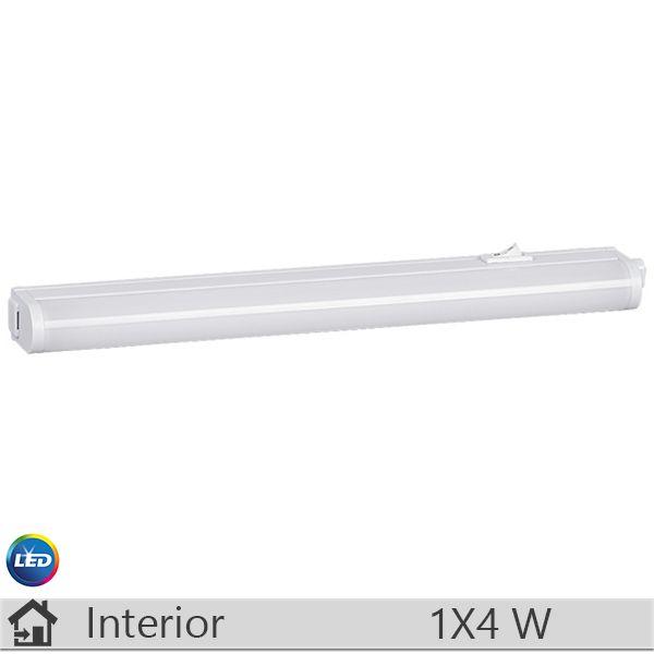 Aplica LED baie, iluminat decorativ interior Rabalux, gama Streak light, model 2388 http://www.etbm.ro/rabalux