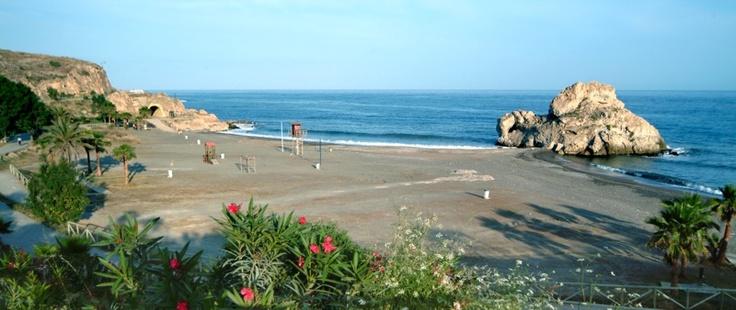 Playa Peñon del Cuervo Beach, Malaga