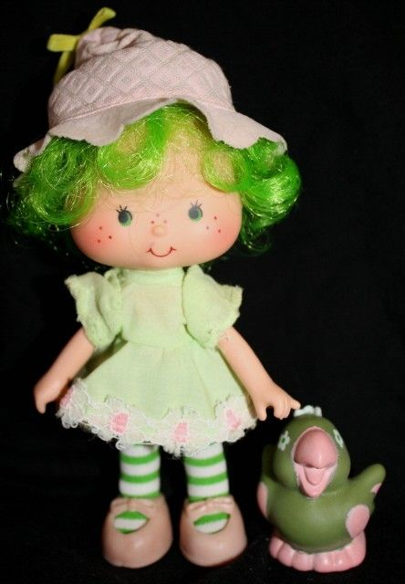 "Get the ""vintage"" ones, I don't like the new strawberry shortcake dolls design at all."
