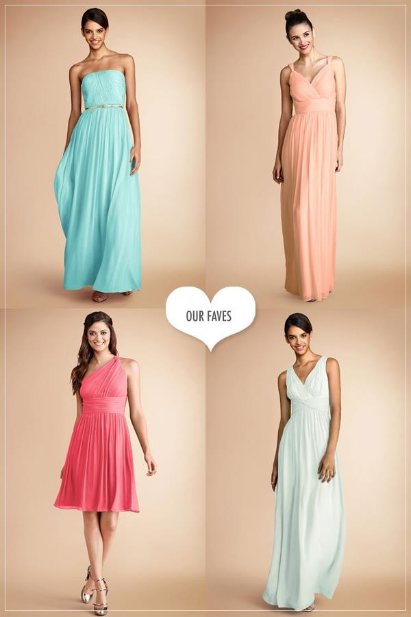 Easy to reproduce bridesmaid styles