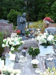 Grégory Lemarchal, cimetière de Sonnaz