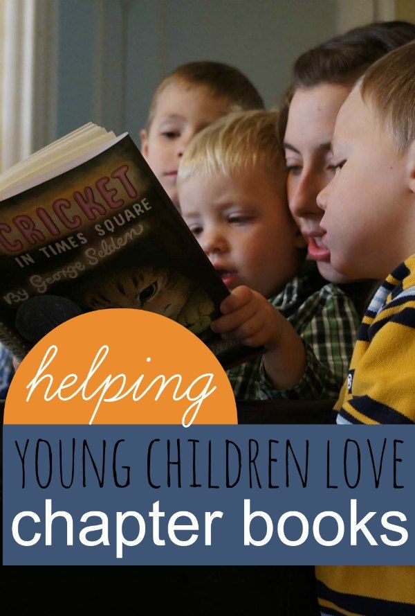 How to Help Young Children Love Chapter Books - We're starting chapter books.  This is a great place to start.