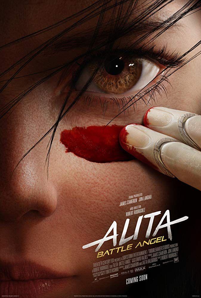 Rosa Salazar In Alita Battle Angel 2019 Filmes Anjos Filmes De Acao