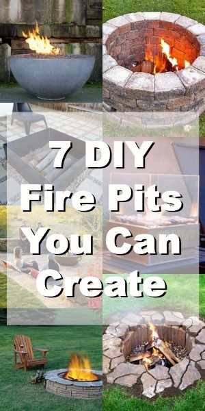7 DIY Fire Pits You Can Build in Your Garden.