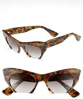 ac98cad81a17 Miu Miu 50mm Cat s Eye Sunglasses on shopstyle.com  MiuMiu