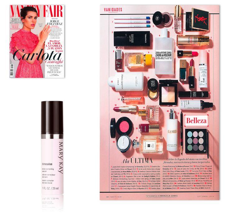 Revista Vanity Fair. Septiembre 2016. Sérum Perfeccionador TimeWise®