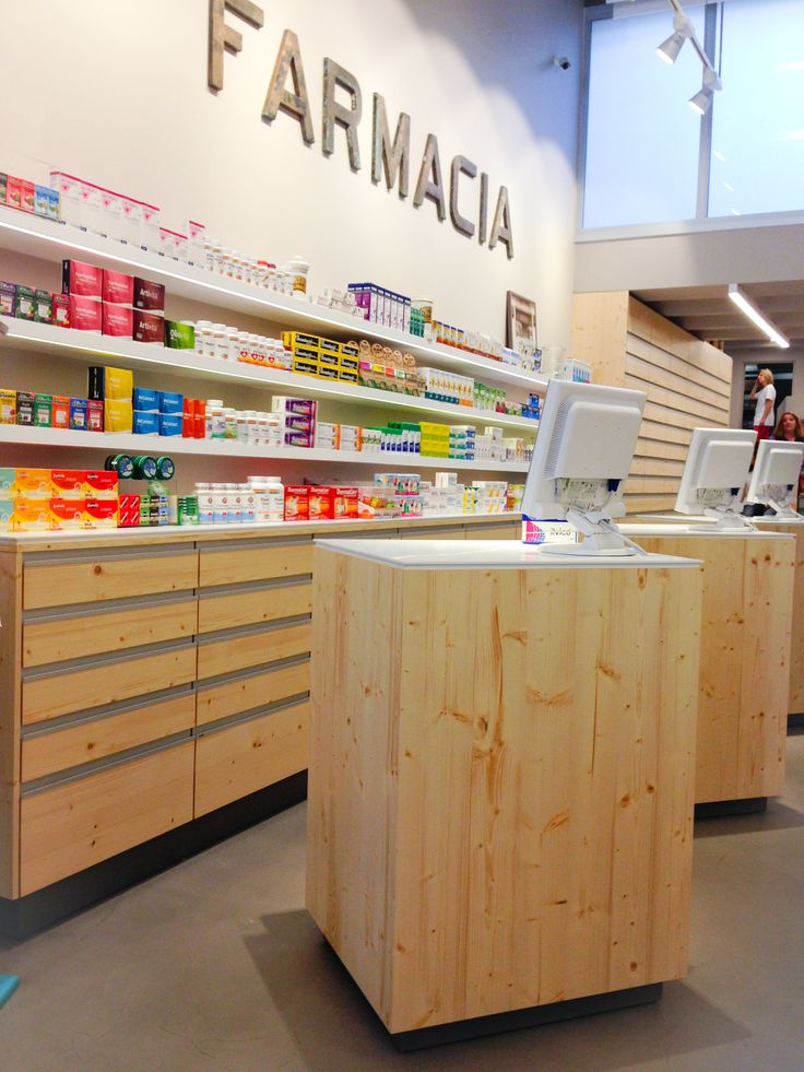 pharmacy counter design individual for privacy