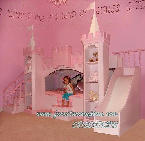 Impian tempat tidur anak perempuan princess http://www.furnitureimpian.com/kamar-tidur-anak/impian-tempat-tidur-anak-perempuan-princess.htm