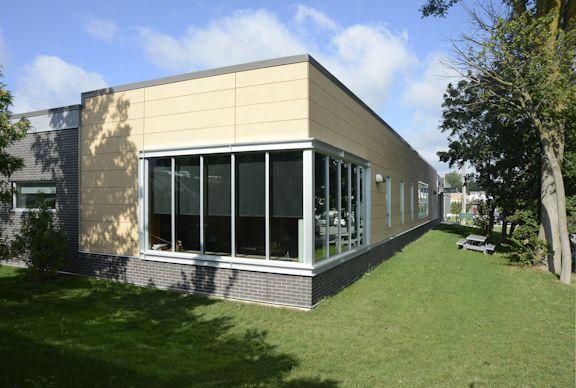 Listowel Health Care Centre by DIALOG features EQUITONE Fibre Cement. Location: Listowel, ON #brilliantbuildings #facade #design