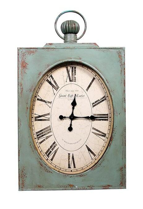 new in stock u0027caf de gareu0027 huge wall clock