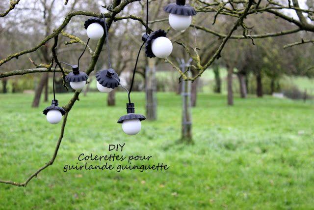 DIY / Collerettes pour guirlande guinguette / Photos Atelier rue verte, le blog /