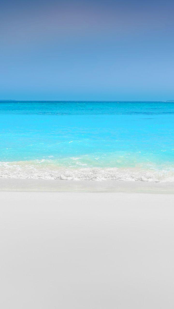 Downaload Sea White Sand Nature Beach Wallpaper For Screen 720x1280 Samsung Galaxy Mini S3 S5 Neo Beach Wallpaper Beach Pictures Most Beautiful Beaches