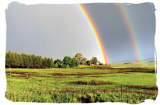 #12 Our nation is as colourful as the rainbow - and yes this rainbow was captured in SA too #25Reasons