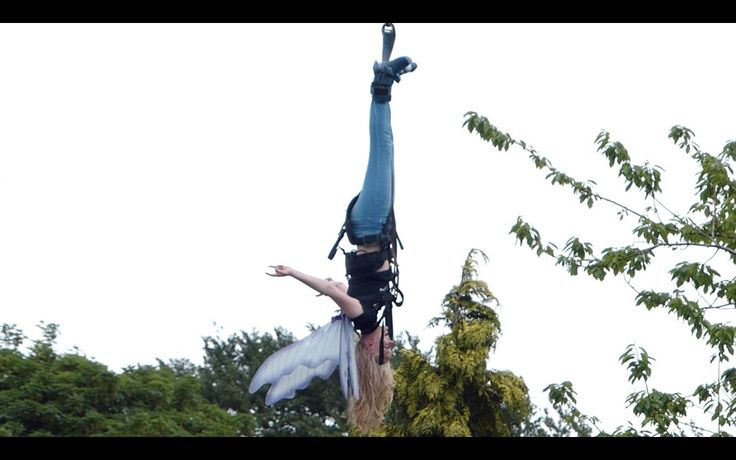 Fairy 200ft Bungee Jump for The Air Ambulance