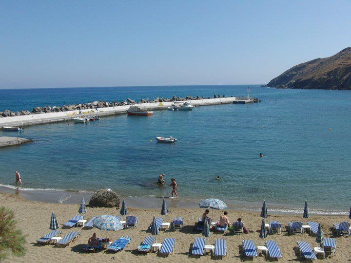 PANORMOS BEACH OF CRETE ISLAND OF GREECE. #PANORMOS #CRETE #GREECE
