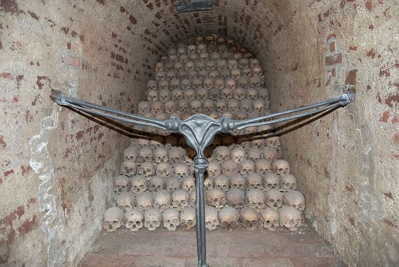 Brno Ossuary | Atlas Obscura