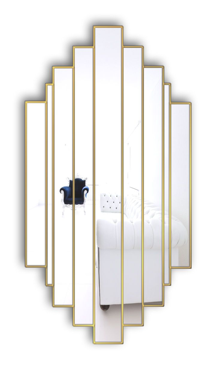 139 best our art deco collection images on pinterest art deco romance art deco wall mirror with simple sleek lines will add that special finishing amipublicfo Image collections