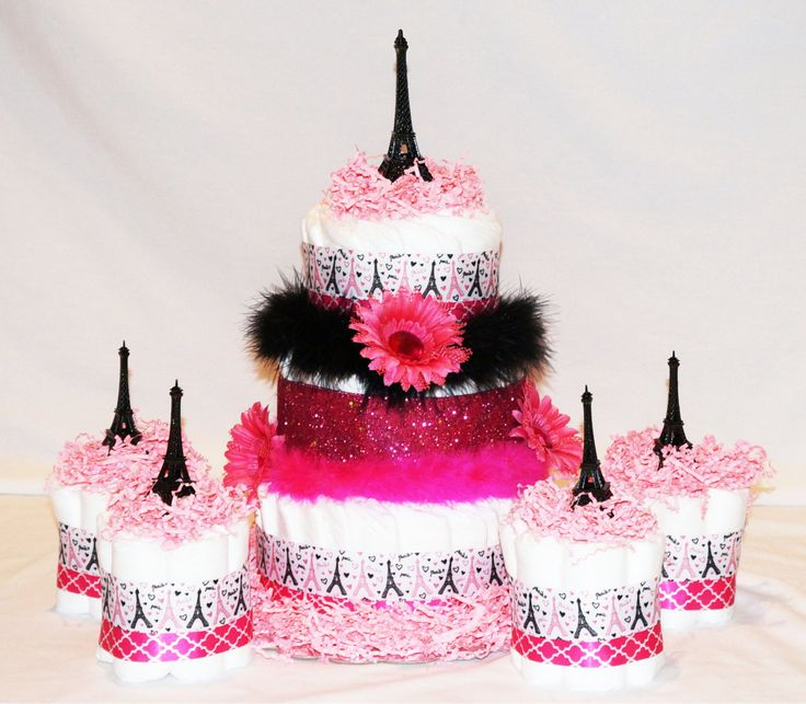 Paris Baby Shower Cake: 50 Best Paris Diaper Cakes Images On Pinterest