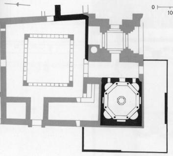 8- plan baptistère de fréjus