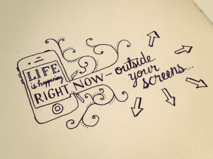 Hand Lettering Quotes - Artsy quotations - Chicquero - life-is-happening