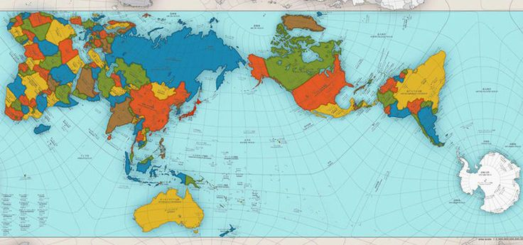 BBC: El extraordinario mapa que muestra al mundo como es realmente