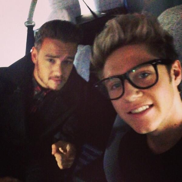 Niall and Liam.... thise glasses though.