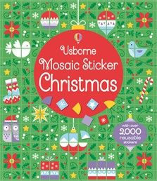 Usborne Mosaic Sticker Christmas