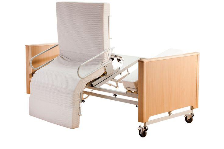 Drehbett und Aufstehbett mobilia casa mit Aufstehhilfe