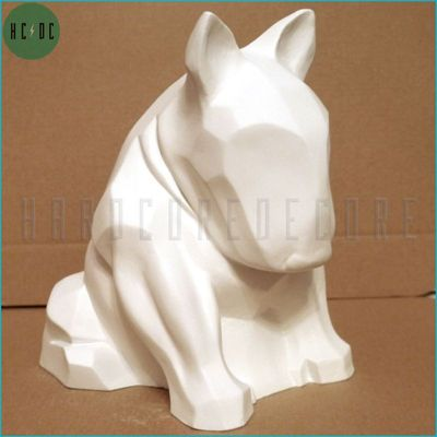 BULL TERRIER WHITE MAT
