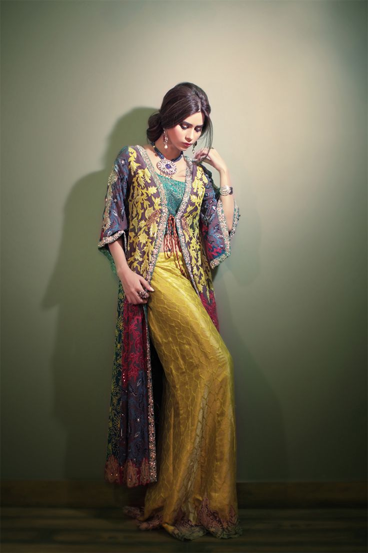 The orient maxi jacket with palazzo pants