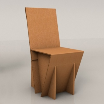 Sedia basic tutto x l 39 hs pinterest cardboard for Chair design basics