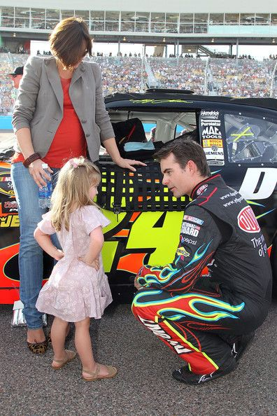 Jeff Gordon And Ingrid Vandebosch Photos Photos Subway