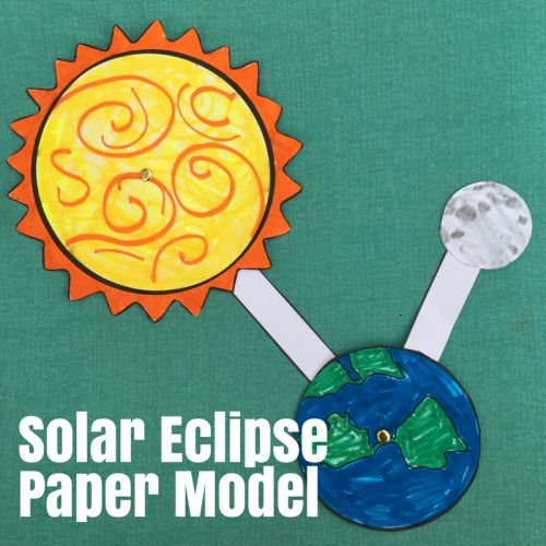 Solar Eclipse Paper Model – Only Passionate Curiosity