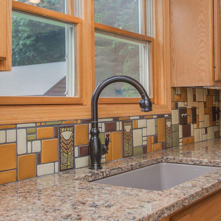 Kitchen Tile Work: 32 Best Spotlight On: Collages By Motawi Tileworks Images On Pinterest