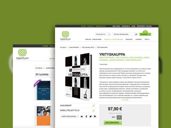 Talentum - UX design