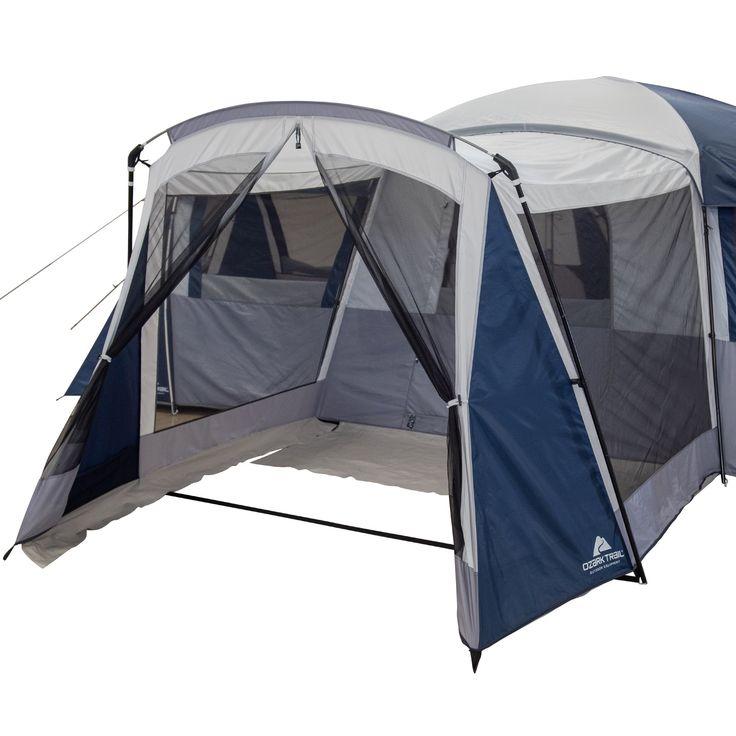 Ozark Trail Hazel Creek 20 Person Star Tent With Screen Room Walmart Com In 2021 Ozark Trail Tent Cool Tents