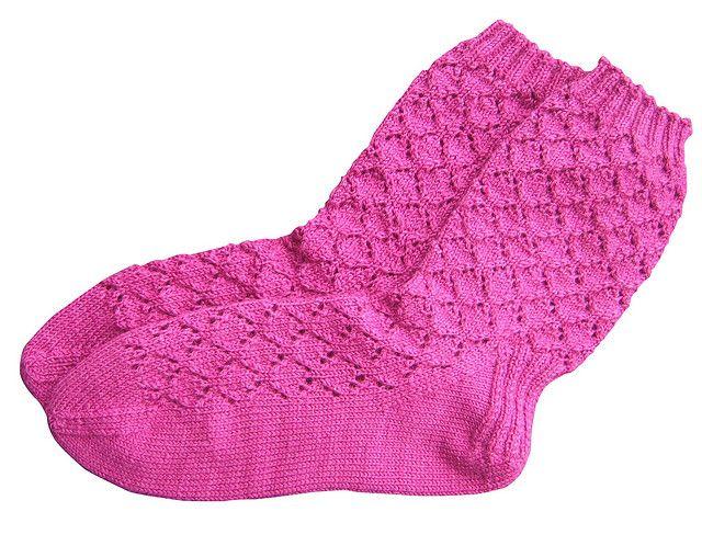 hiyahiya diamond lace sock